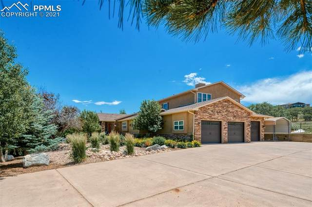 3655 Harmon Drive, Monument, CO 80132 (#9468468) :: The Dixon Group