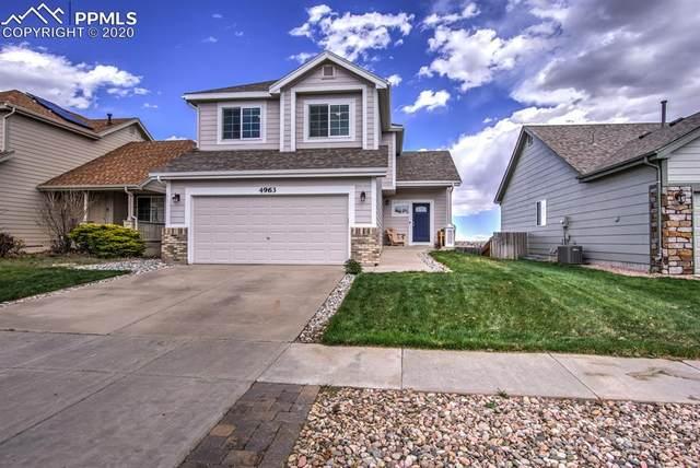 4963 Laredo Ridge Drive, Colorado Springs, CO 80922 (#9477099) :: The Kibler Group