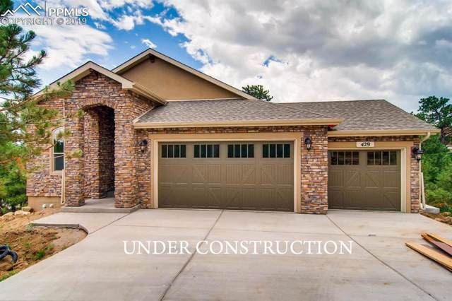 675 High Lonesome View, Colorado Springs, CO 80906 (#9477364) :: The Dixon Group