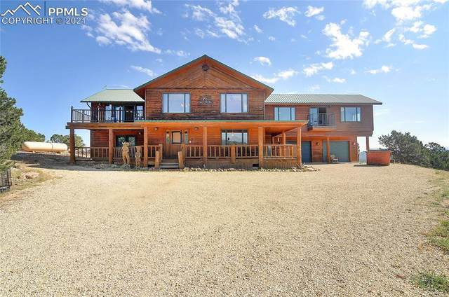 1400 Wild Bill Boulevard, Westcliffe, CO 81252 (#9493754) :: Tommy Daly Home Team