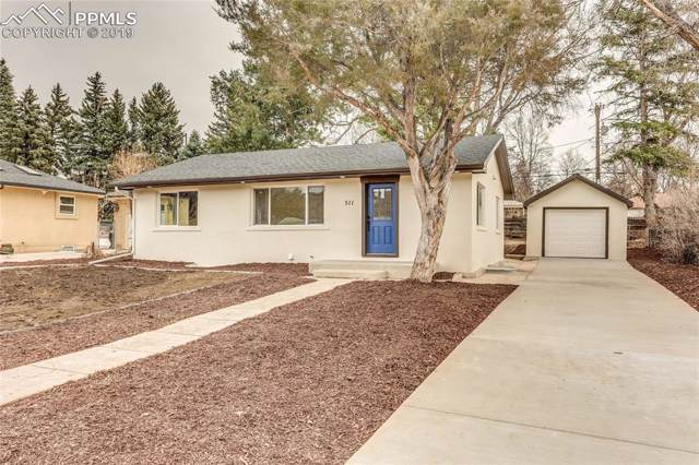 511 N 31st Street, Colorado Springs, CO 80904 (#9509862) :: Jason Daniels & Associates at RE/MAX Millennium