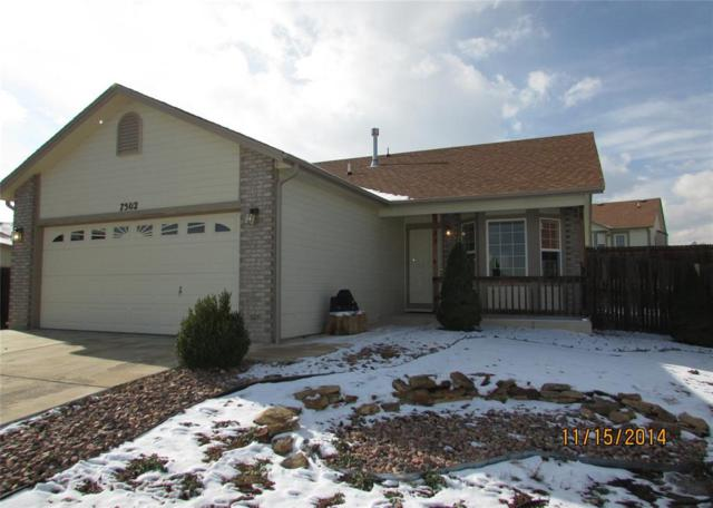 7502 Silver Bow Drive, Colorado Springs, CO 80925 (#9521243) :: Action Team Realty