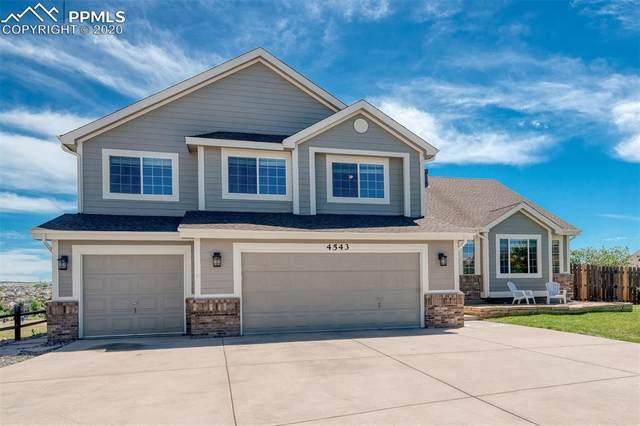 4543 Clark Fork Place, Colorado Springs, CO 80923 (#9528660) :: The Treasure Davis Team