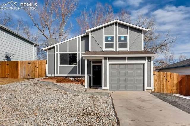 7550 Churchwood Circle, Colorado Springs, CO 80918 (#9536113) :: The Dixon Group