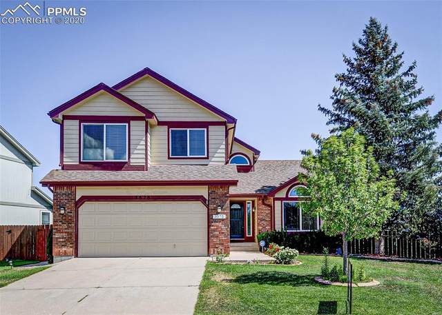 3575 Brunswick Drive, Colorado Springs, CO 80920 (#9542320) :: The Treasure Davis Team