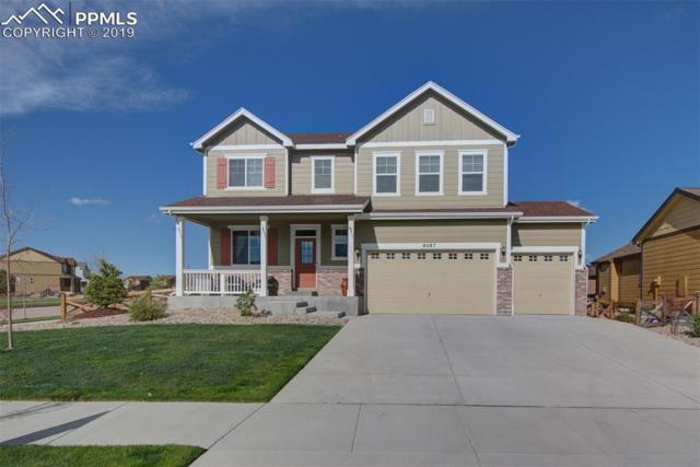 8087 Cedarstone Street, Colorado Springs, CO 80927 (#9568775) :: The Hunstiger Team