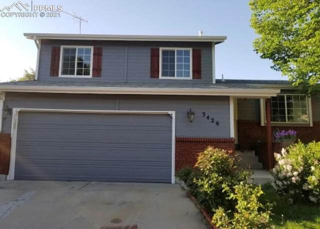 3426 Mountainside Drive, Colorado Springs, CO 80918 (#9572403) :: The Harling Team @ HomeSmart