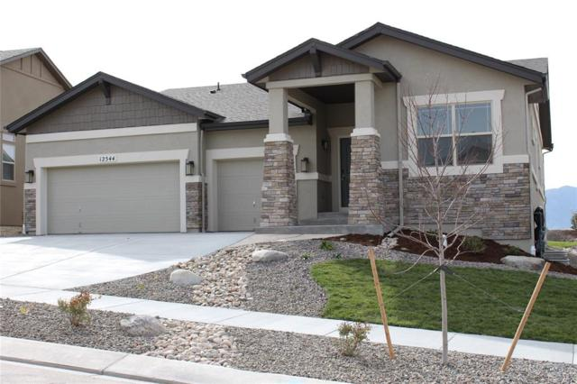 12544 Hawk Stone Drive, Colorado Springs, CO 80921 (#9600147) :: The Hunstiger Team