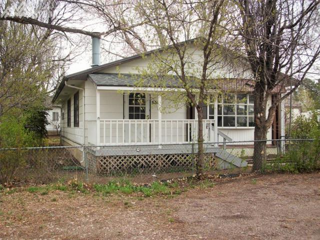 528 Manitou Avenue, Calhan, CO 80808 (#9630541) :: The Peak Properties Group