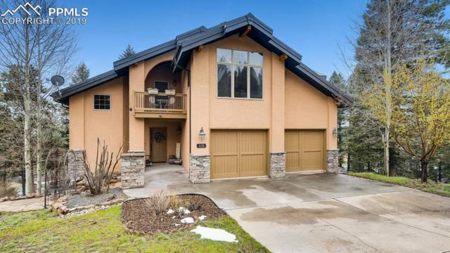 410 Falcons Rest Place, Woodland Park, CO 80863 (#9636156) :: Colorado Home Finder Realty