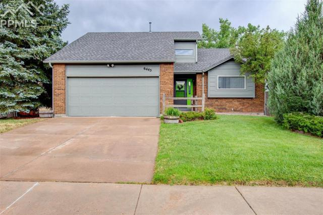 6445 Lonsdale Drive, Colorado Springs, CO 80915 (#9658378) :: The Hunstiger Team