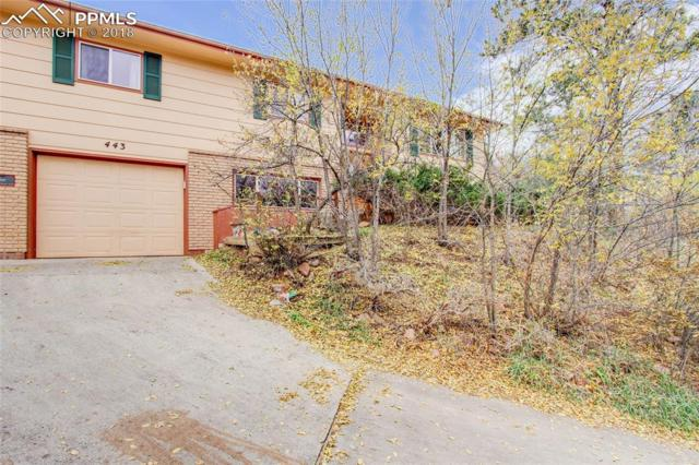 443 E Fountain Place, Manitou Springs, CO 80829 (#9699389) :: Action Team Realty