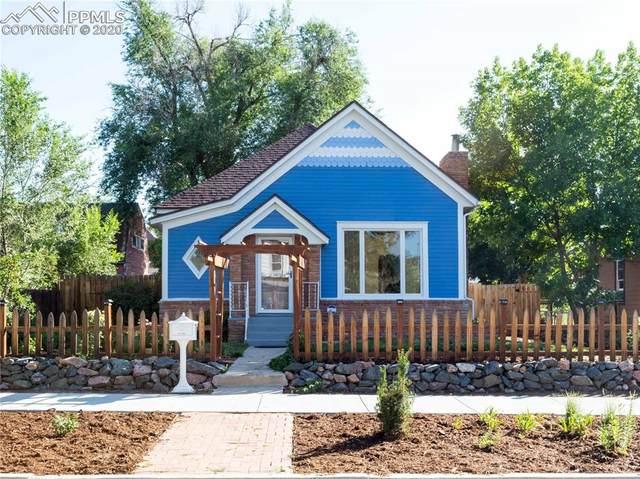 1228 W Cucharras Street, Colorado Springs, CO 80904 (#9711909) :: Finch & Gable Real Estate Co.