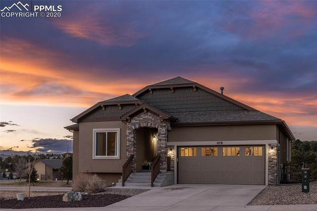 878 Gold Canyon Road, Monument, CO 80132 (#9760978) :: The Treasure Davis Team