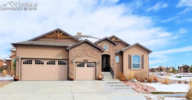 1409 Yellow Tail Drive, Colorado Springs, CO 80921 (#9786640) :: Jason Daniels & Associates at RE/MAX Millennium