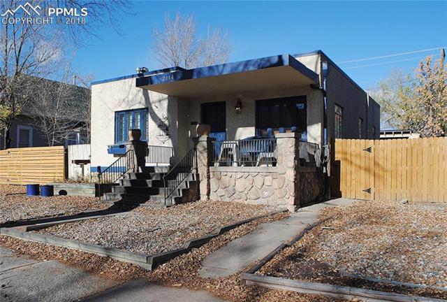 2114 W Colorado Avenue, Colorado Springs, CO 80904 (#9796038) :: The Hunstiger Team