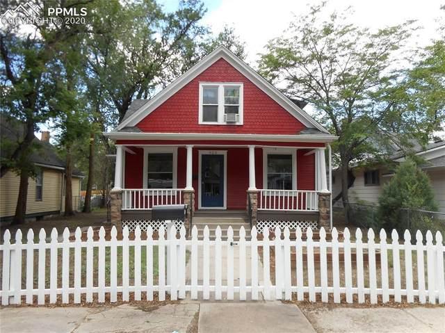 928 N Corona Street, Colorado Springs, CO 80903 (#9802288) :: Finch & Gable Real Estate Co.