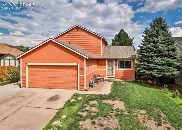 3433 Hunterwood Drive, Colorado Springs, CO 80916 (#9809414) :: Hudson Stonegate Team