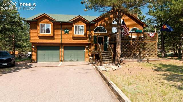 2133 Valley View Drive, Woodland Park, CO 80863 (#9813015) :: The Kibler Group