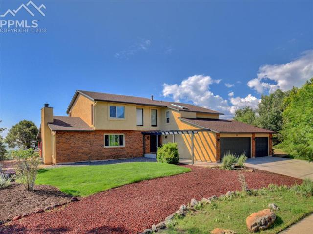 1345 Winding Ridge Terrace, Colorado Springs, CO 80919 (#9825045) :: The Treasure Davis Team