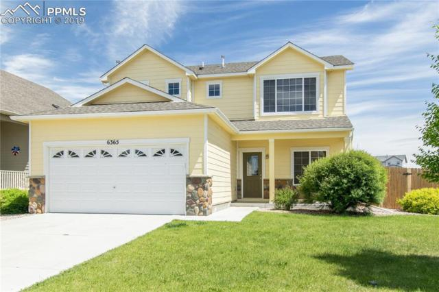 6365 Roundup Butte Street, Colorado Springs, CO 80925 (#9834460) :: The Treasure Davis Team