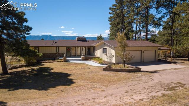 2405 Evergreen Road, Colorado Springs, CO 80921 (#9853680) :: The Hunstiger Team