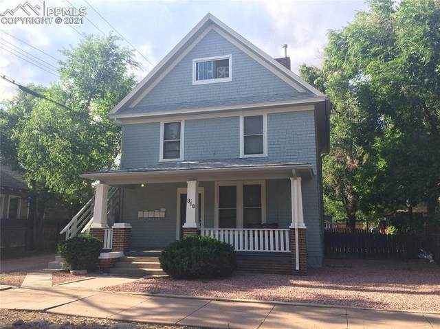 318 Yampa Street #5, Colorado Springs, CO 80903 (#9865665) :: You 1st Realty