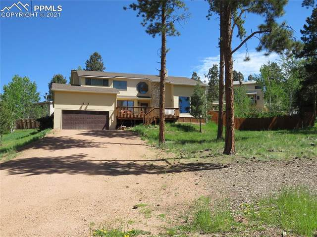 600 Lovell Gulch Road, Woodland Park, CO 80863 (#9866388) :: Action Team Realty