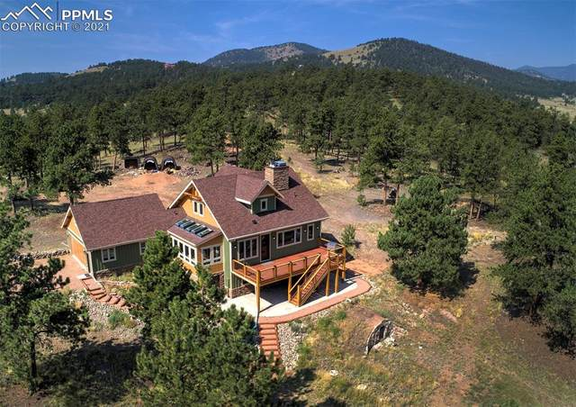 868 Julia Road, Guffey, CO 80820 (#9868583) :: Tommy Daly Home Team