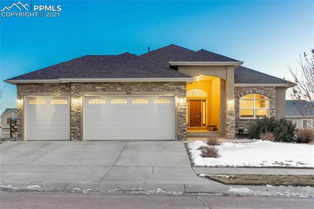 931 Spectrum Loop, Colorado Springs, CO 80921 (#9869675) :: The Treasure Davis Team