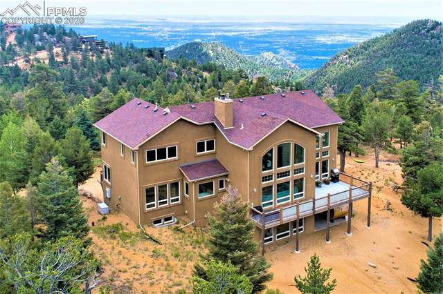 376 Summit Ridge Road, Manitou Springs, CO 80829 (#9869729) :: Tommy Daly Home Team