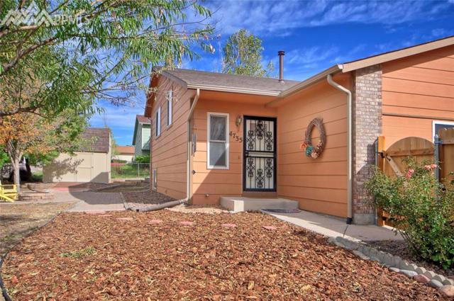 4735 Cassidy Street, Colorado Springs, CO 80911 (#9870799) :: The Hunstiger Team