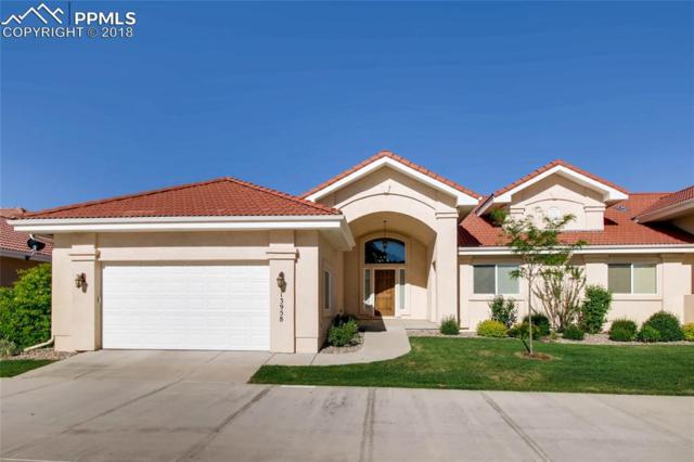 13958 Paradise Villas Grove, Colorado Springs, CO 80921 (#9885345) :: The Hunstiger Team