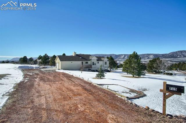 715 W Caribou Drive, Monument, CO 80132 (#9899655) :: The Kibler Group