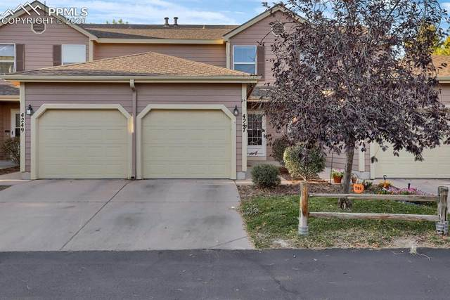 4247 Hunting Meadows Circle #3, Colorado Springs, CO 80916 (#9926271) :: The Treasure Davis Team