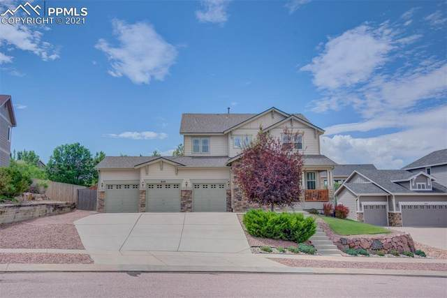 849 Coyote Willow Drive, Colorado Springs, CO 80921 (#9960549) :: The Kibler Group