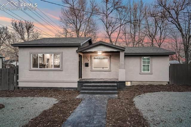 213 N Franklin Street, Colorado Springs, CO 80903 (#9986552) :: Fisk Team, RE/MAX Properties, Inc.