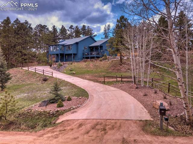 128 Ute Trail, Woodland Park, CO 80863 (#9991450) :: Fisk Team, RE/MAX Properties, Inc.