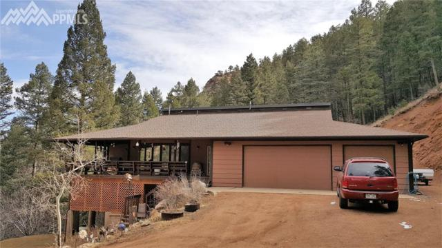 1500 Sutherland Creek Road, Manitou Springs, CO 80829 (#1127679) :: Jason Daniels & Associates at RE/MAX Millennium