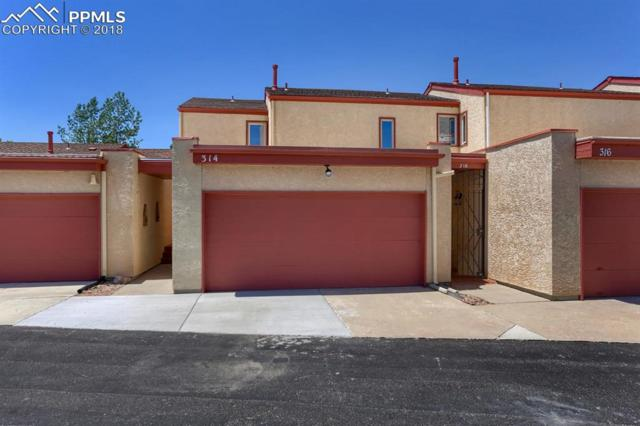 314 Mission Hill Way, Colorado Springs, CO 80921 (#1236219) :: The Hunstiger Team