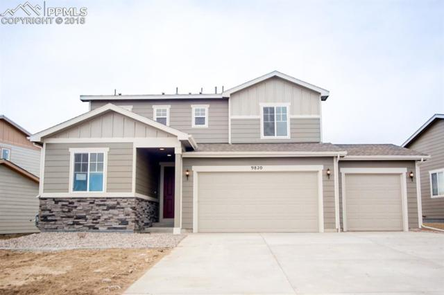 9820 Chromatic Terrace, Peyton, CO 80831 (#1393275) :: Action Team Realty