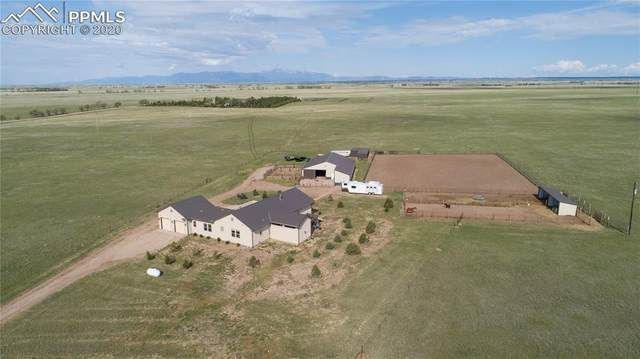 9690 N Log Road, Calhan, CO 80808 (#1454072) :: Finch & Gable Real Estate Co.
