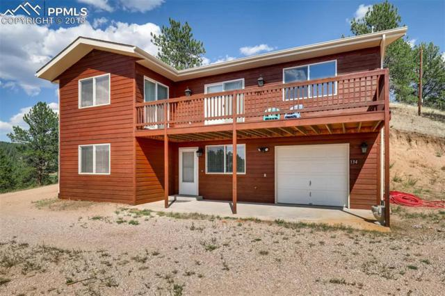 134 Hillside Drive, Florissant, CO 80816 (#1558355) :: Jason Daniels & Associates at RE/MAX Millennium