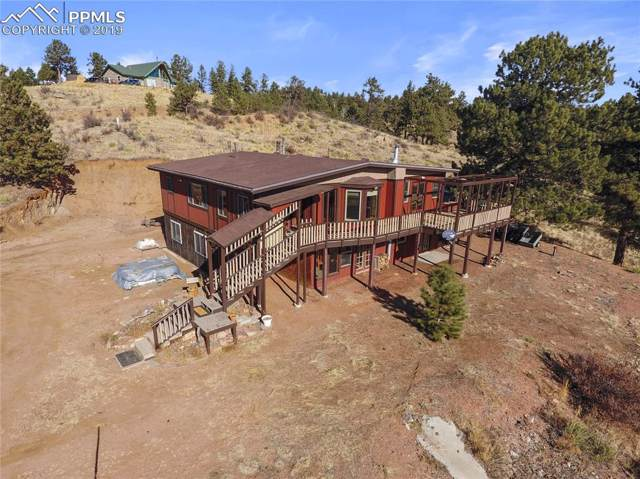 556 Circle Drive, Florissant, CO 80816 (#1591593) :: Tommy Daly Home Team