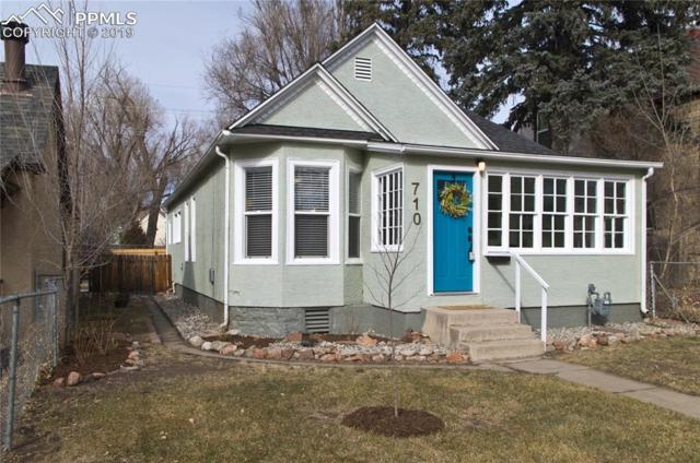 710 E High Street, Colorado Springs, CO 80903 (#1606404) :: The Peak Properties Group