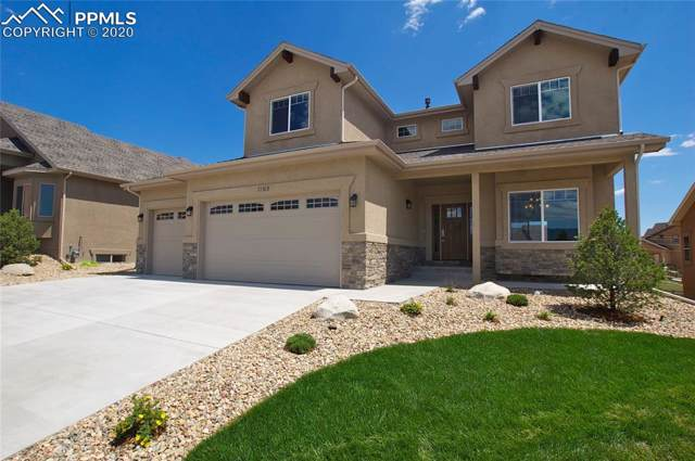 1165 Diamond Rim Drive, Colorado Springs, CO 80921 (#1695128) :: The Hunstiger Team