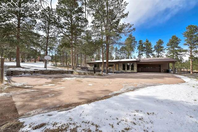 740 Old Wagon Trail, Woodland Park, CO 80863 (#2024147) :: Action Team Realty