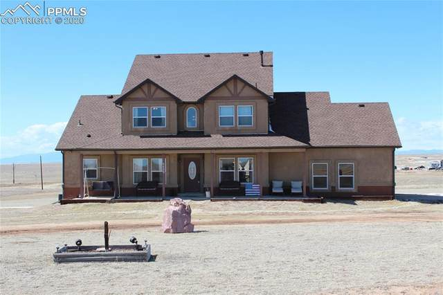 5485 N Yoder Road, Calhan, CO 80808 (#2082558) :: Action Team Realty
