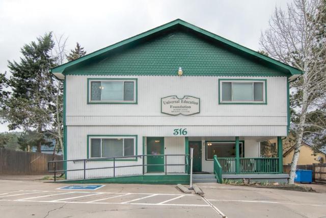 316 N S Highway #67, Woodland Park, CO 80863 (#2116524) :: 8z Real Estate