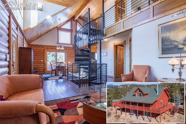 154 Peak View Circle, Florissant, CO 80816 (#2214482) :: Action Team Realty